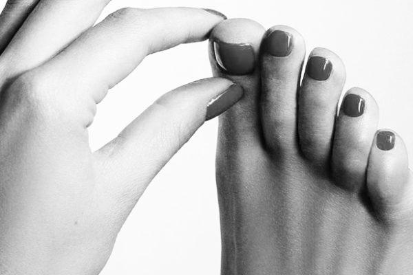piedi perfetti di donna
